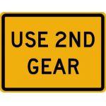 Use 2nd Gear