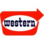 Western logo facing right