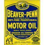 Beaver-Penn Motor Oil