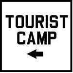 Tourist camp (left arrow)