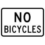 No Bikes Legend