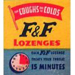 F and F lozenges
