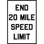 End Speed Limit