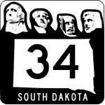 South Dakota 1958-1970, alternate