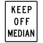 Keep Off Median